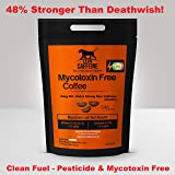 UK & World's Strongest Coffee | 48% Stronger Than Death Wish / Deathwish Coffee | Seriously & Extremely Very Extra Strong High Caffeine Coffee Ground 227g | Arabica + AAA Robusta Coffee | Good as Organic – Lab Verified Pesticide + Mycotoxin Free Coffee – Bulletproof / Paleo Coffee | Roasted Dark – Strong & Smooth like Italian Espresso Roast Coffee | Lean Caffeine GROUND 227g (8oz)