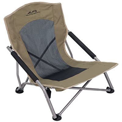 ALPS Mountaineering Rendezvous Chair, Khaki, 8013914 : Sports & Outdoors