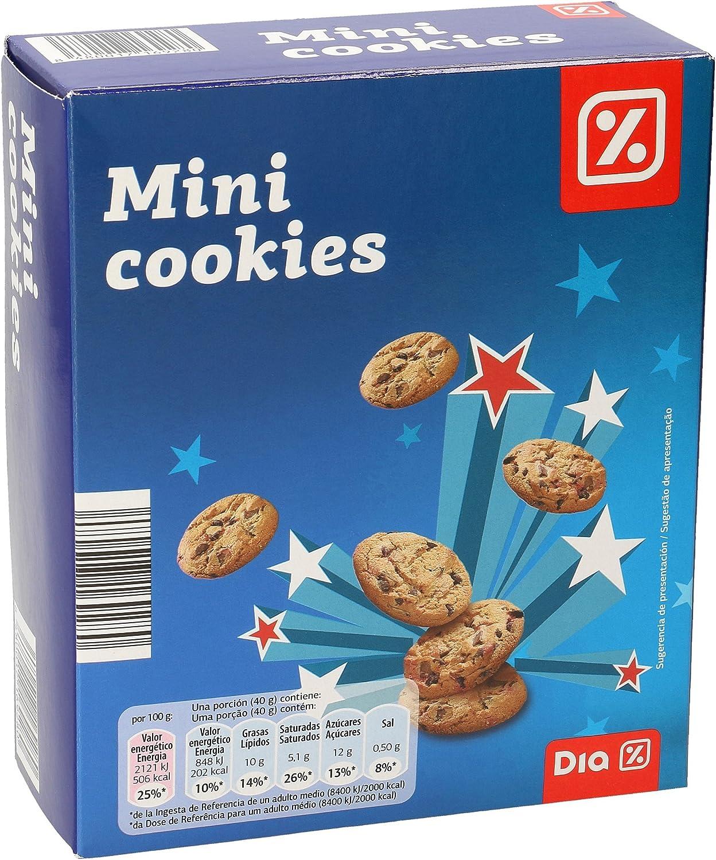 DIA galletas mini cookies caja 160 gr