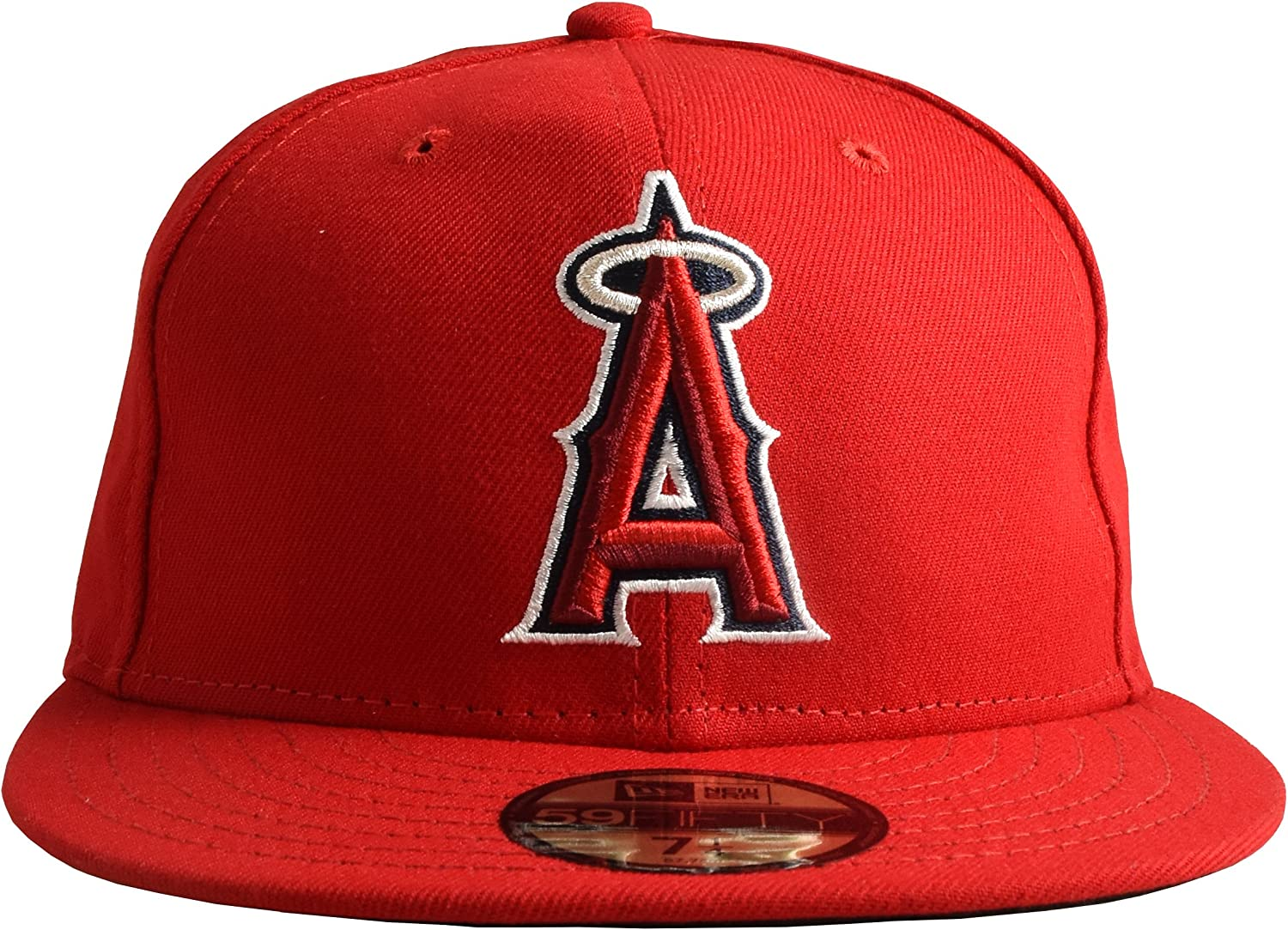 New Direct sale of manufacturer Era Anaheim Angels Fitted Hat Super beauty product restock quality top! 59Fifty Red Cap On-Field