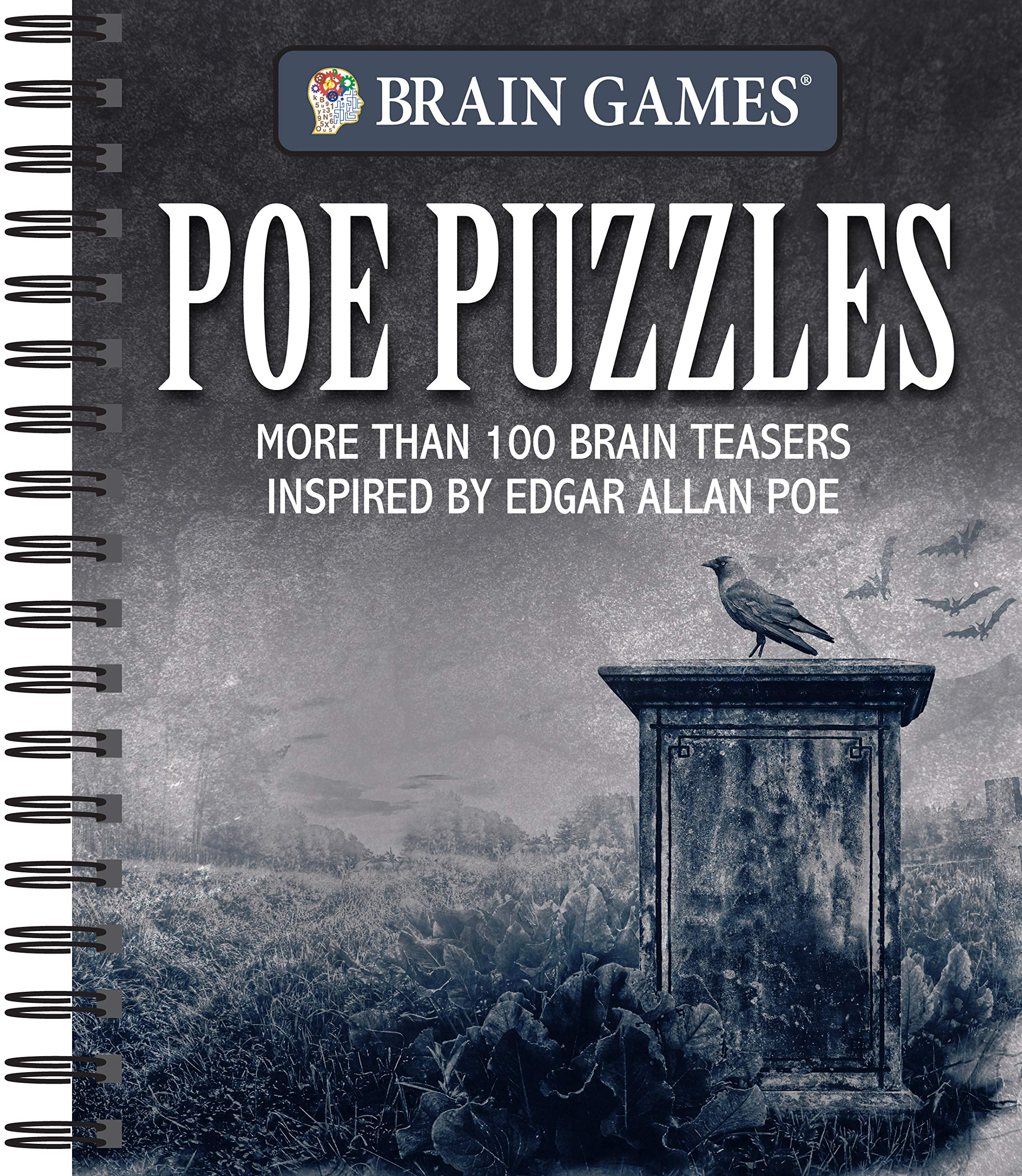 Brain Games Poe Puzzles More Than 100 Brain Teasers Inspired by Edgar Allen Poe