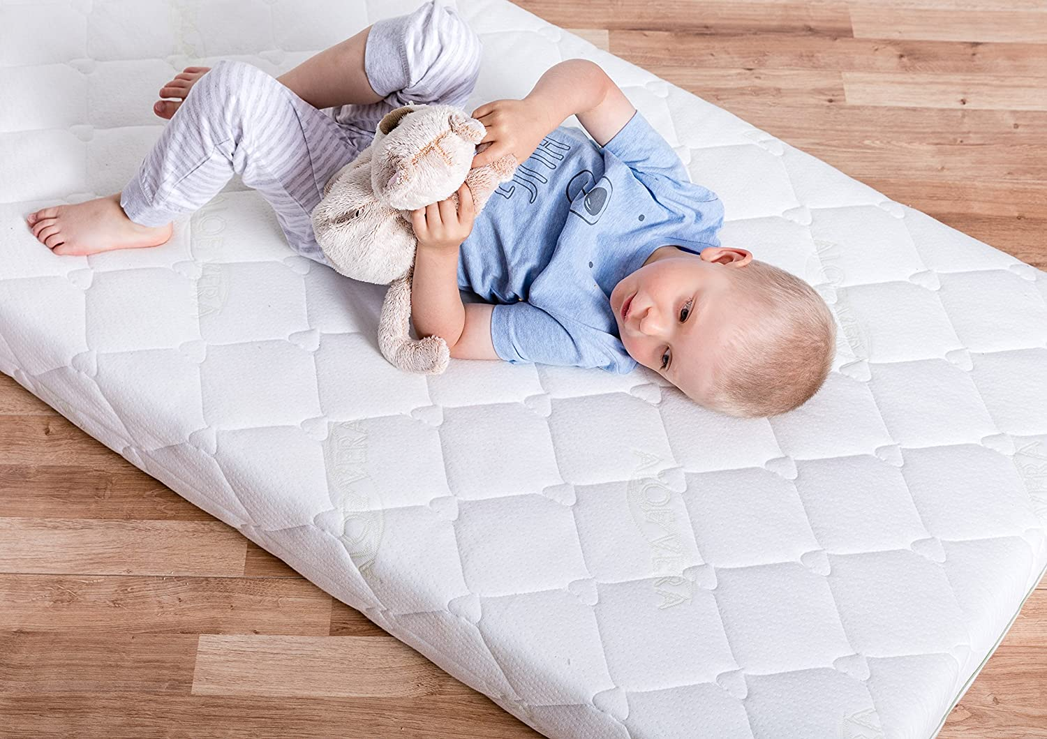 Two Sided Baby//Toddler Firmness The Newest Premium Natural Mattress BestCare/® Height 12 cm Made in The EU Size:Premium 140x70cm Organic Baby Cot Mattress No Chemical Smell No Wool or Latex