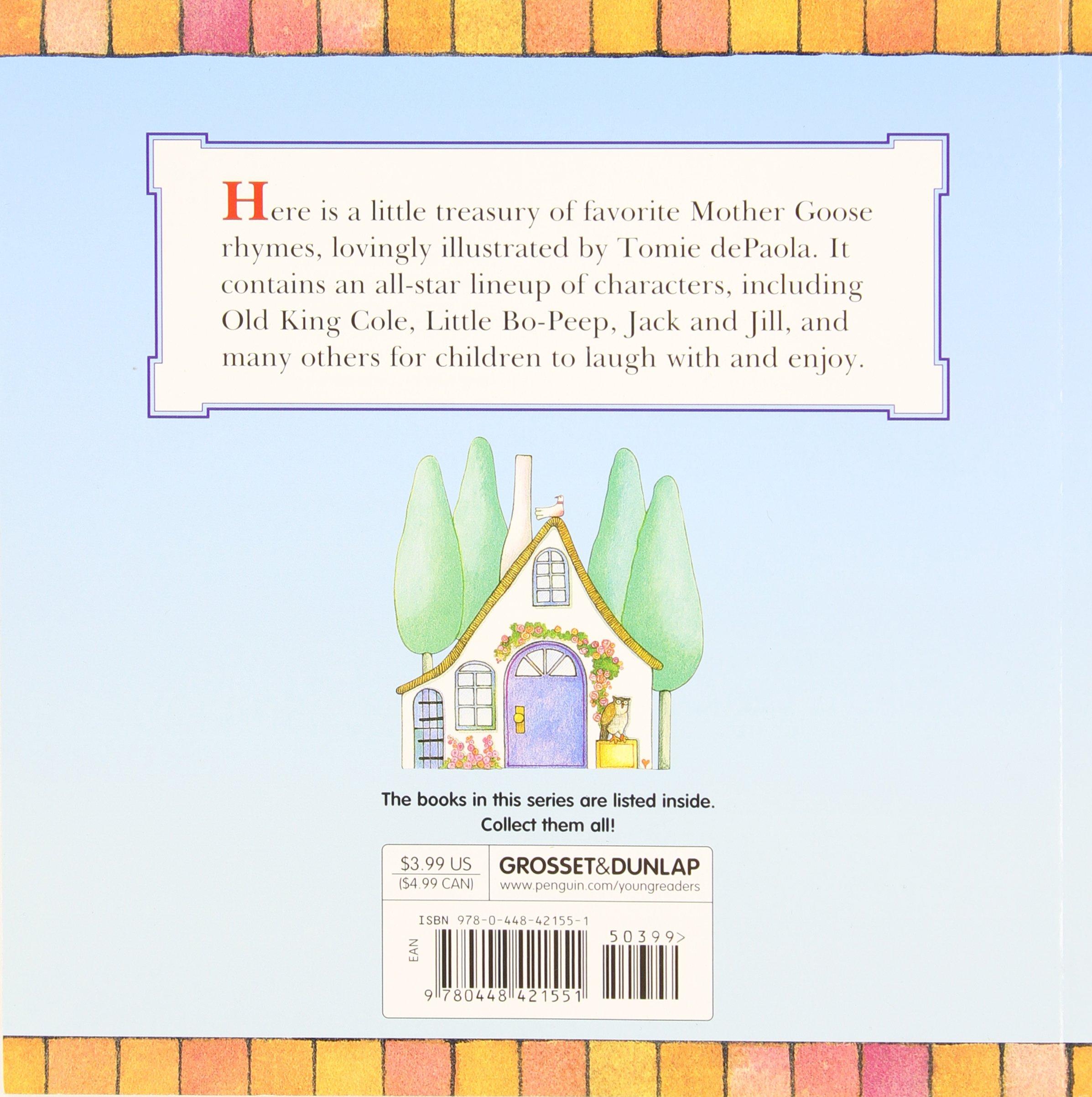 amazon com tomie depaola u0027s mother goose favorites reading