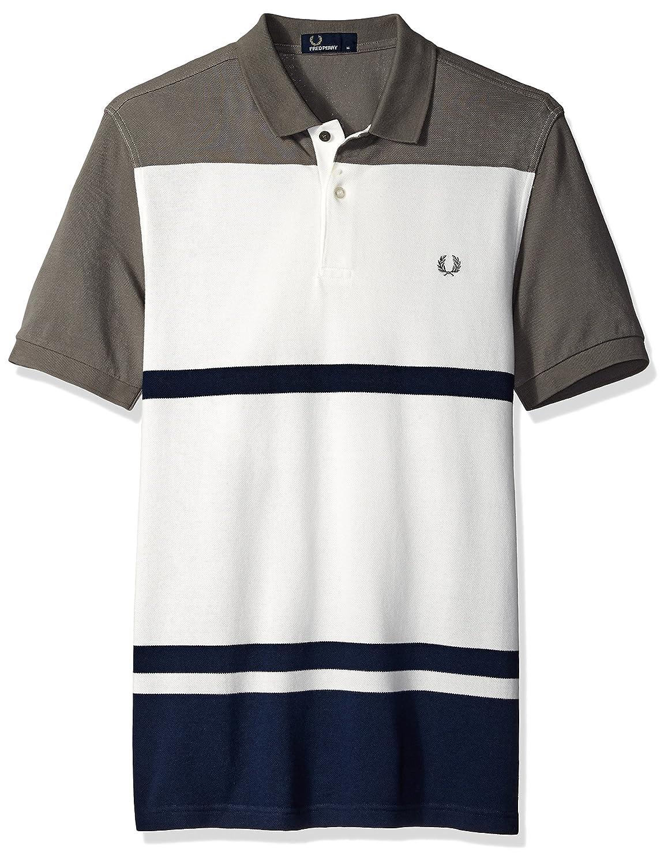 5db7f989 Amazon.com: Fred Perry Men's Multi Stripe Pique Shirt: Clothing
