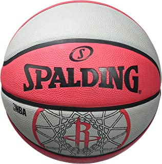 Ballon de Basket-Ball SPALDING NBA Team Ball 2016 Houston Rockets