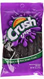 Grape Crush Licorice Twists - Made with Real Grape Crush! 5oz (4 Packs)