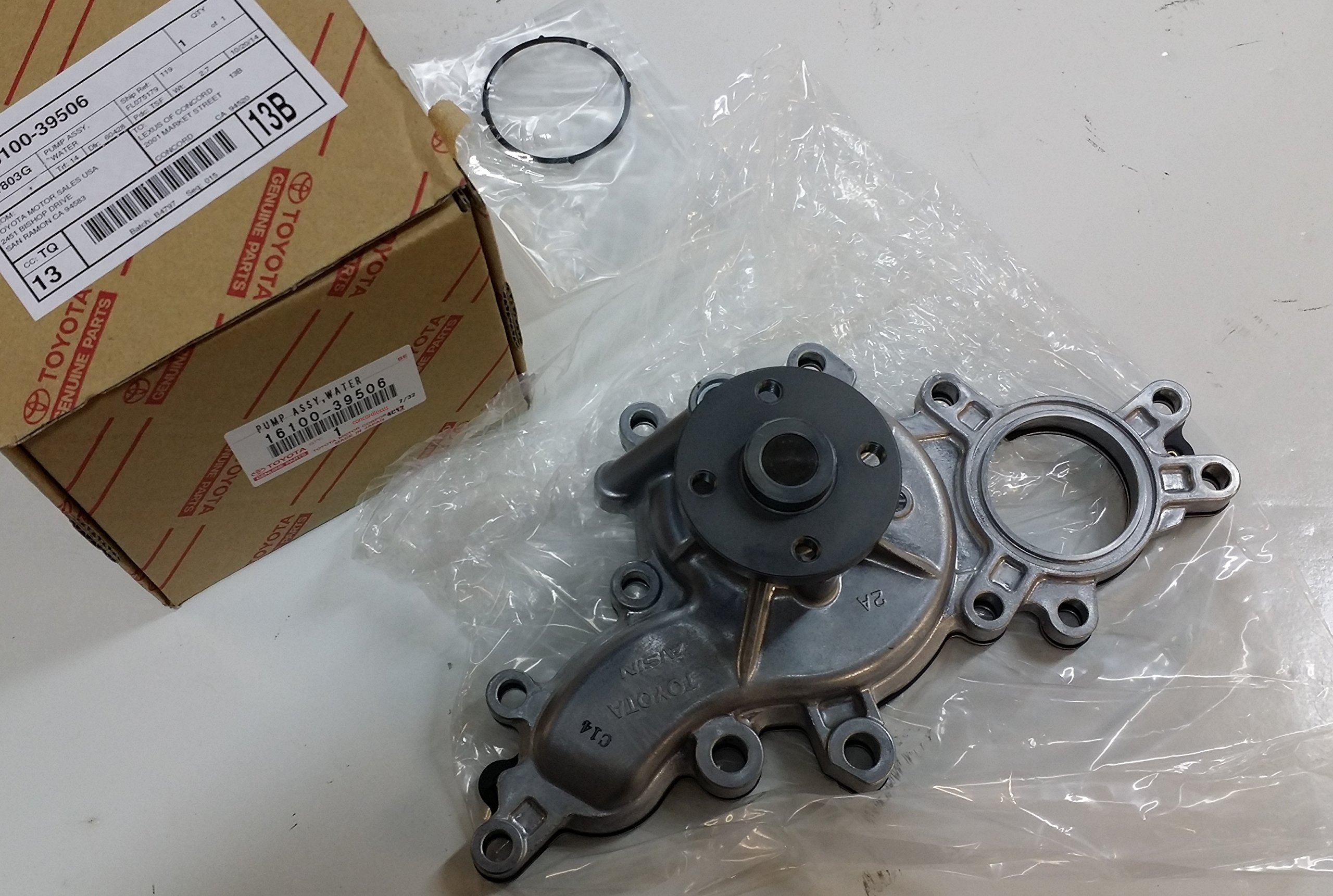 Lexus 16100-39506, Engine Water Pump by Lexus