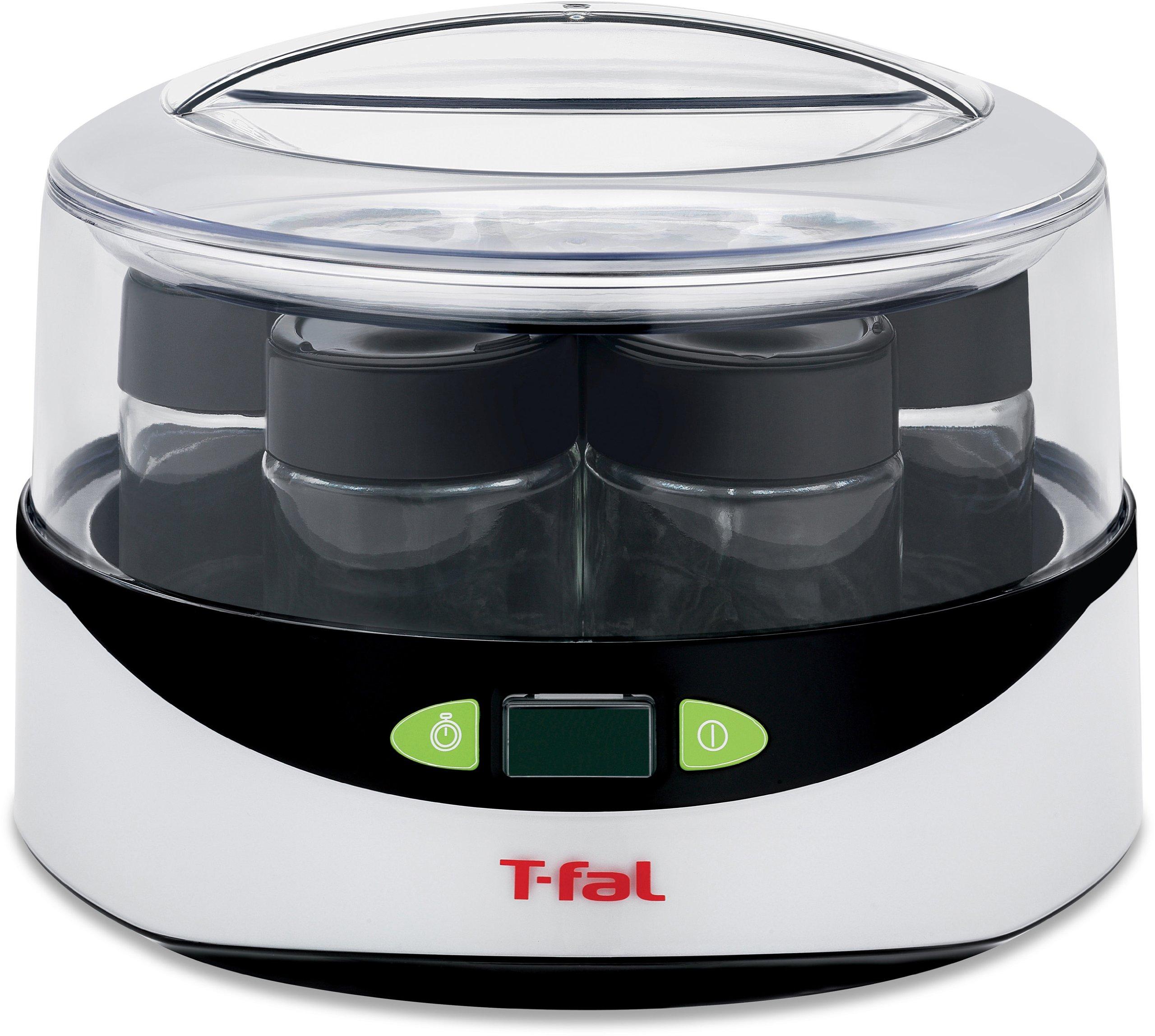 T-fal YG232 Balanced Living Yogurt Maker with LCD Timer, White by T-fal