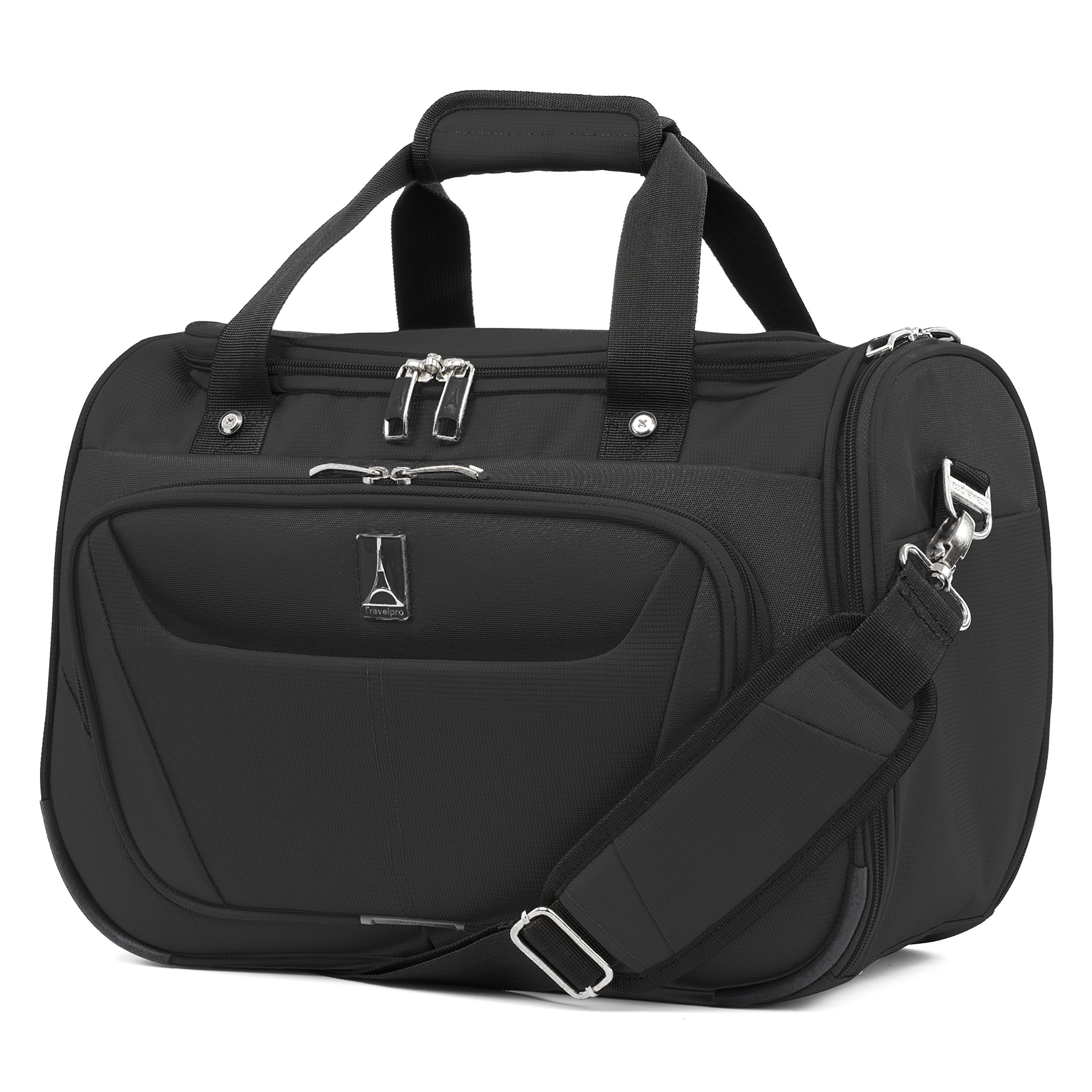 Travelpro Luggage Maxlite 5 18'' Lightweight Carry-on Under Seat Travel Tote, Black, One Size