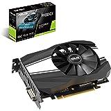 ASUS GeForce GTX 1660 TI 6GB Phoenix Fan Overclocked Edition VR Ready HDMI DP DVI Graphics Card (PH-GTX1660TI-O6G)