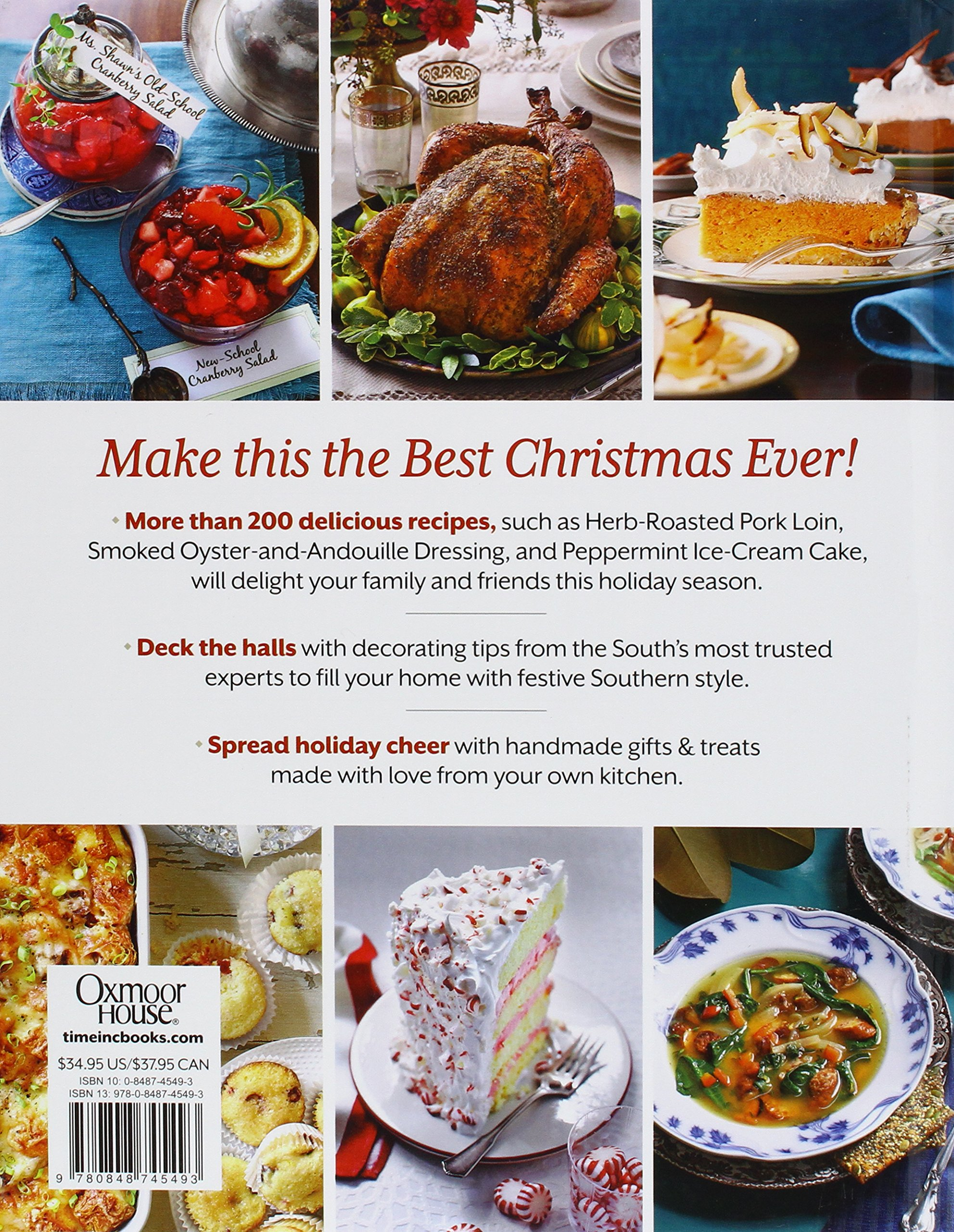 Southern Living Home For The Holidays Cookbook: Favorite Holiday Recipes  And Easy Decorating Ideas: The Editors Of Southern Living Magazine:  9780848745493: ...