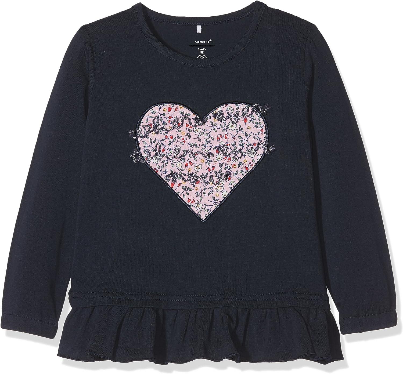 NAME IT M/ädchen Nmfladorit Ls Top Sweatshirt