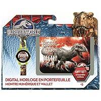 Universal - 896009 - Jurassic World - Set Portefeuille + Montre Digitale