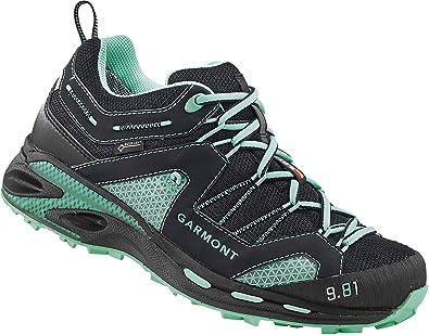 Garmont Sticky Cloud Shoes Women Black/Light Blue UK 4 um2TM7ST