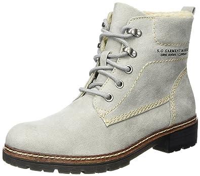 s.Oliver Damen 26212 Combat Boots, Braun (Pepper), 37 EU