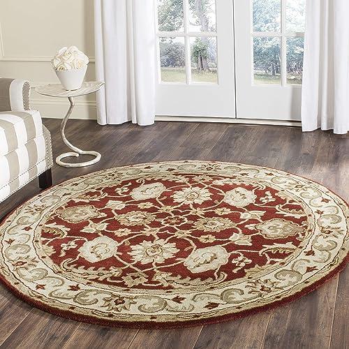 Safavieh Royalty Collection ROY244B Handmade Traditional Oriental Premium Wool Area Rug