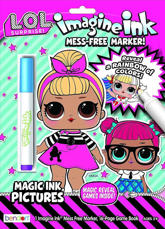- Amazon.com: L.O.L Suprise! LOL Surprise Imagine Ink Magic Ink