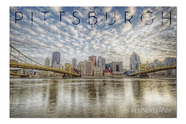 【人気No.1】 Pittsburgh , Pennsylvania Shore – B076PS5K6L Skyline From Pittsburgh The North Shore ( 20 x 30プレミアム1000ピースジグソーパズル、アメリカ製。 ) B076PS5K6L, 特価ブランド:a22d974f --- a0267596.xsph.ru
