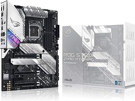 ASUS ROG Strix Z490-A Gaming - Placa Base Gaming ATX Intel de 10a Gen LGA 1200