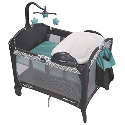 Graco Pack 'n Play Portable Seat & Changer Playard, Affinia