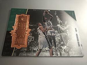 1998-1999 Upper Deck NBA SPX Finite The Admiral David Robinson Card #133 Limited Edition 3476/5400! San Antonio Spurs