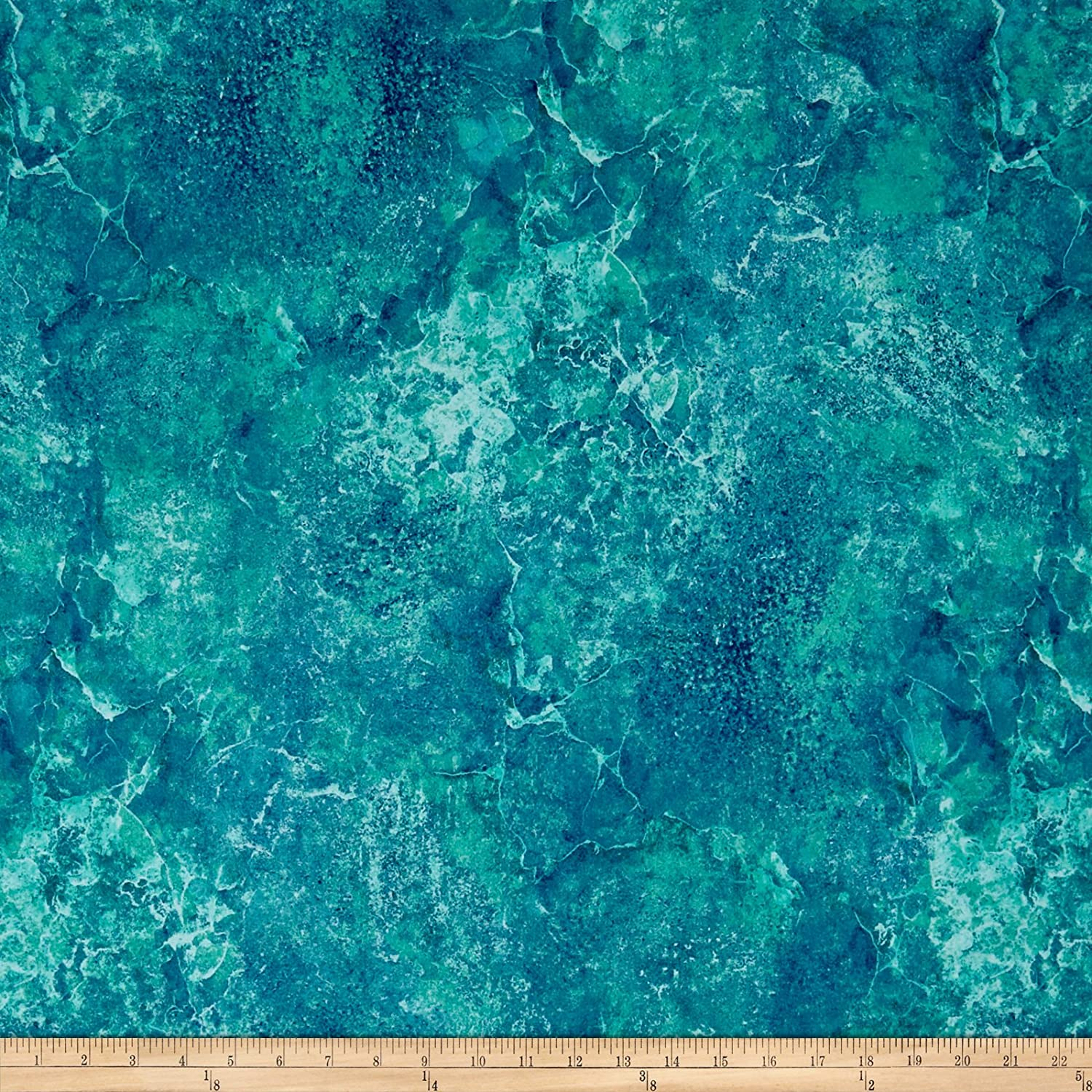 Northcott 0570778 Stonehenge Gradations Basics Blender Lagoon Fabric by the Yard