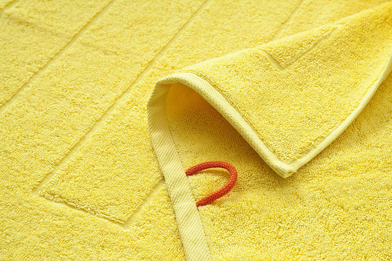100/% cotone Sabbia deserto /ÖKOTEX 100 Tappetino da bagno tappetino da doccia 50 x 70 cm