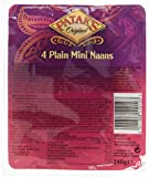 Patak's 4 Mini Naans Nature 240 g