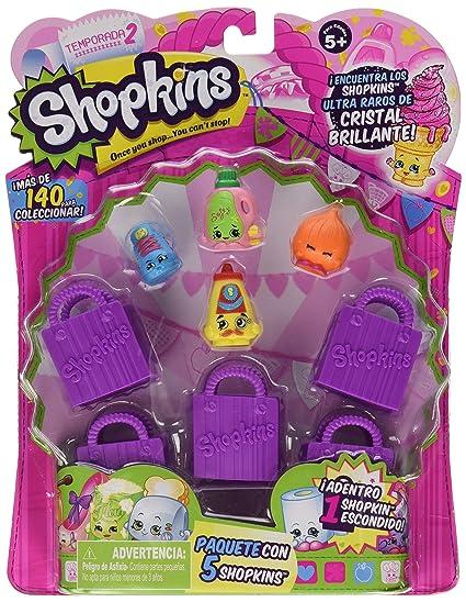 Shopkins Season 2 5 Pack Styles Will Vary