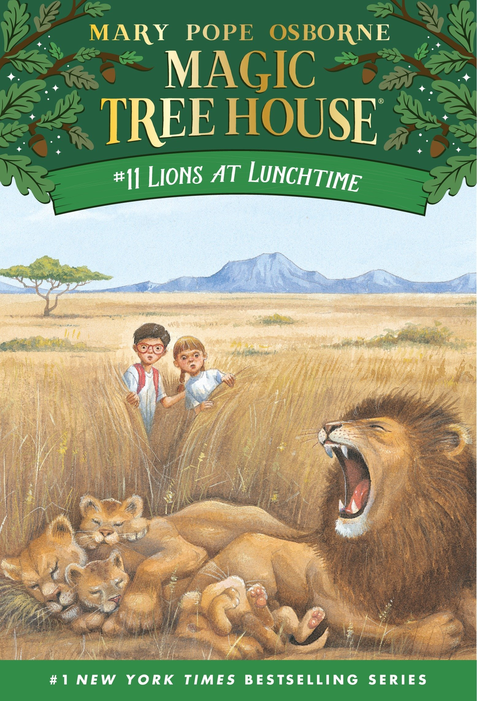 Amazon.com: Lions at Lunchtime (Magic Tree House, No. 11) (2015679883401):  Mary Pope Osborne, Sal Murdocca: Books