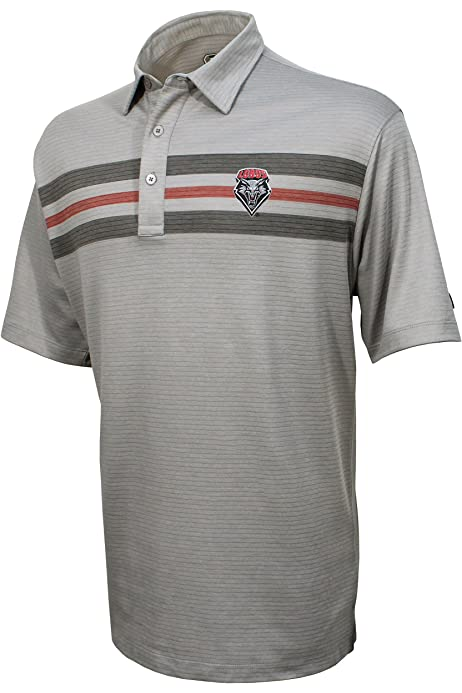 Old Varsity Brand NCAA Mens Poly Polo with Panels