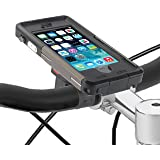 TiGRA Sport iPhone SE 自転車 バイク ホルダー 防水 防塵 耐衝撃 指紋認証 ARMOR GUARD for iPhone SE/5S/5 【AG BIKE KIT】