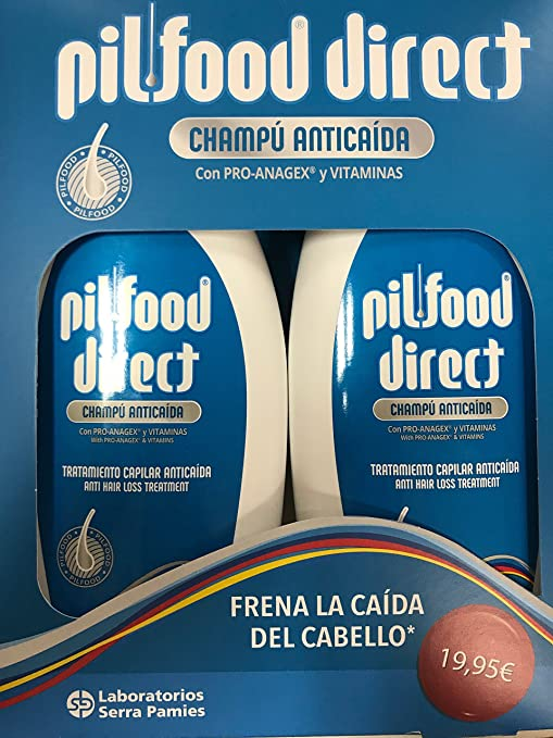 Pilfood Duplo Champú 500+ 500 ml