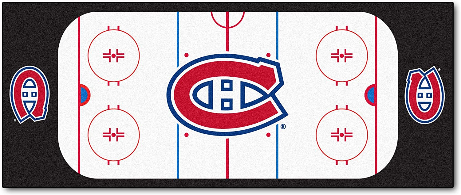 FANMATS NHL Montreal Canadiens Nylon Face Football Field Runner