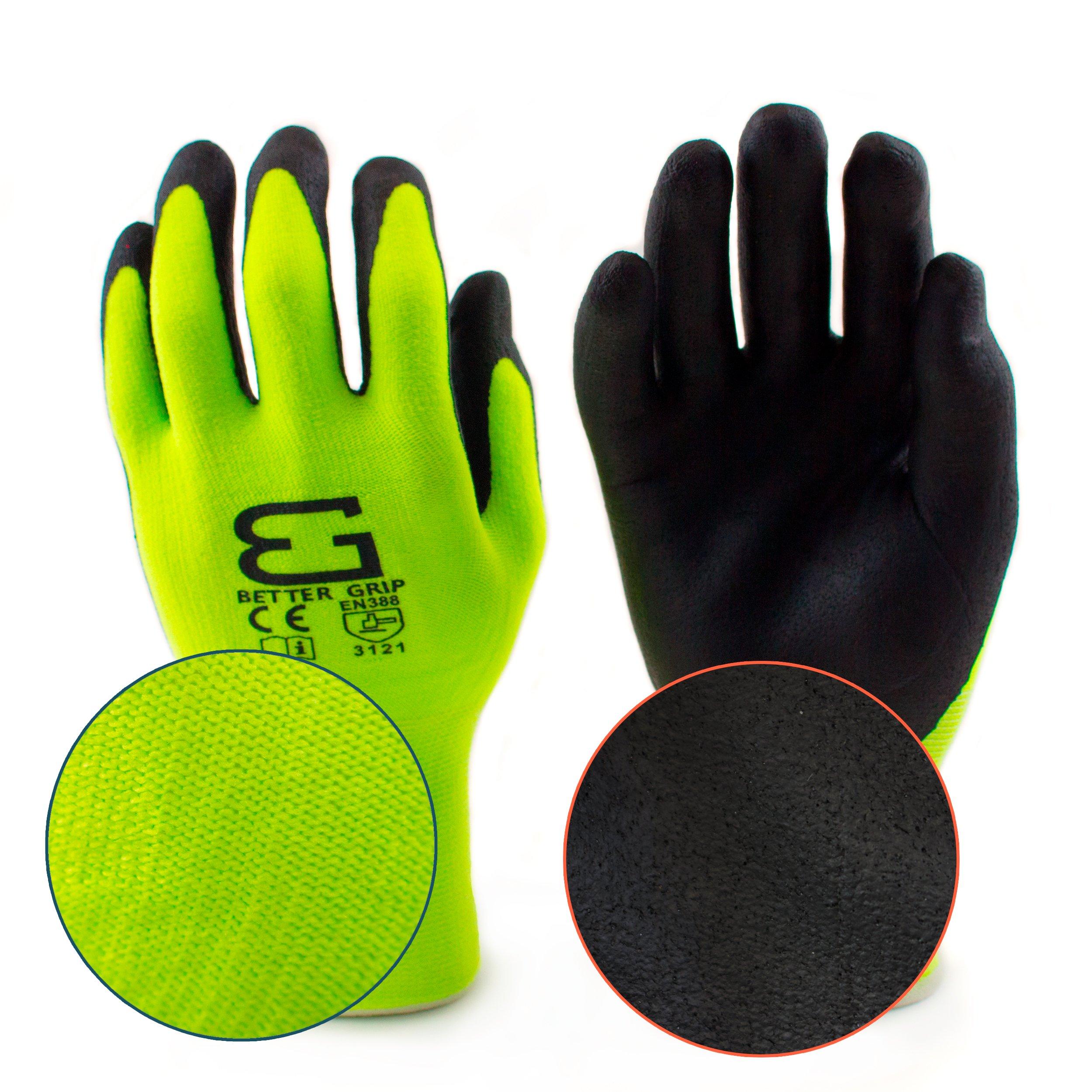 Spidergard SPL-RR50 50 Foot Wire Rope Self-Retracting Lifeline with Swivel Hook and Carabiner w/ Micro Foam Work Glove by Spidergard (Image #2)