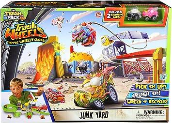 Trash Pack Wheels Junk Yard by Trash Pack: Amazon.es: Juguetes y ...