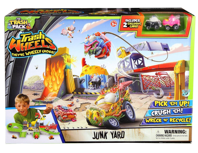 amazon com trash pack wheels junk yard toys u0026 games