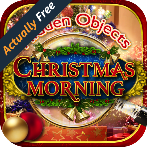 Hidden Objects Christmas Morning - Magical Christmas Wonderland Seek & Find Games FREE Family Stocking Ornaments