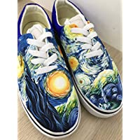1262b005693 The Starry Night Vans Authentic Van Gogh Starry Night Vans Shoes Custom  Shoes Vans Authentic Custom