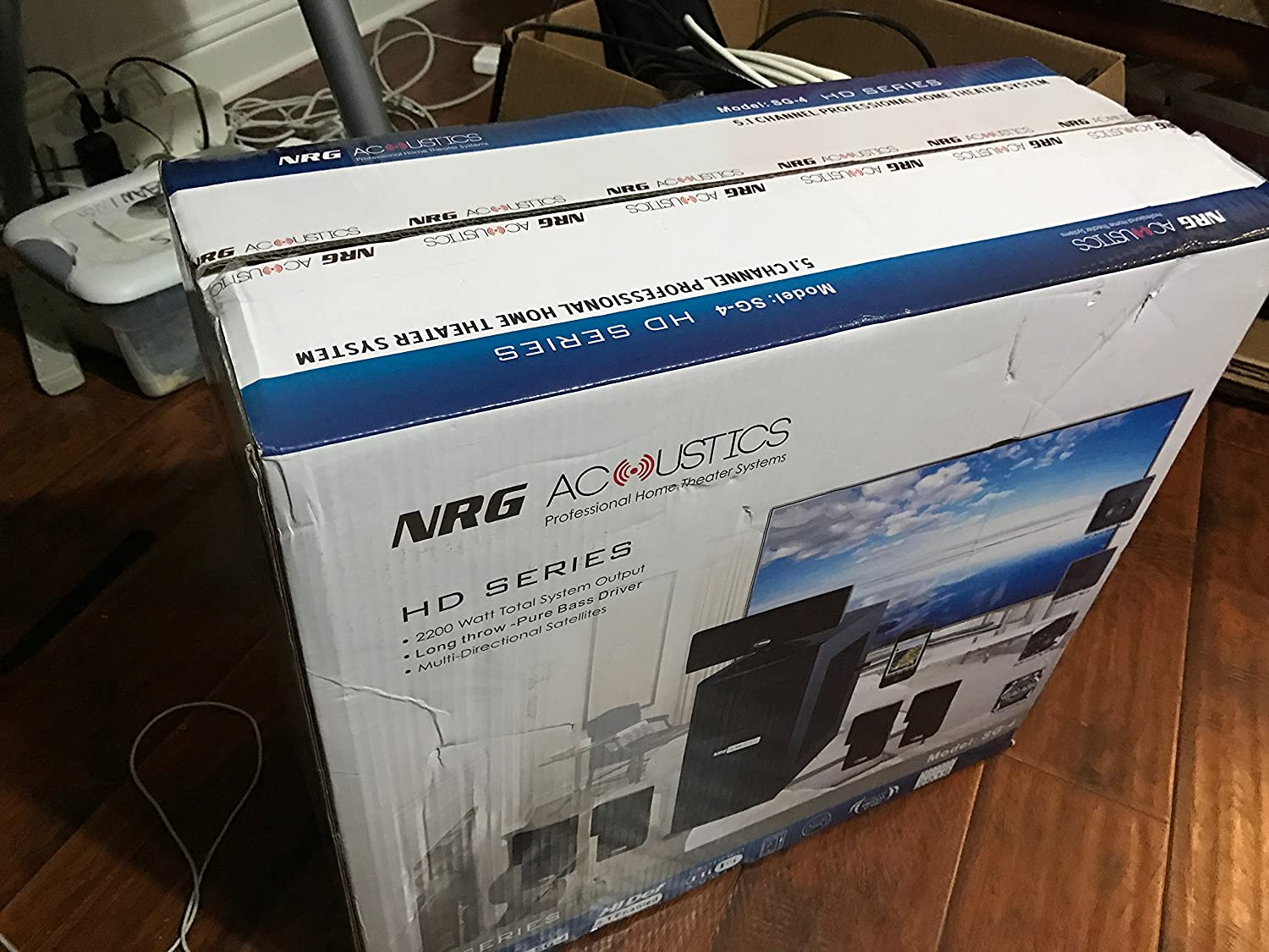 Amazon.com: NRG Acoustics HD Series Professional Home Theater: Home Audio & Theater