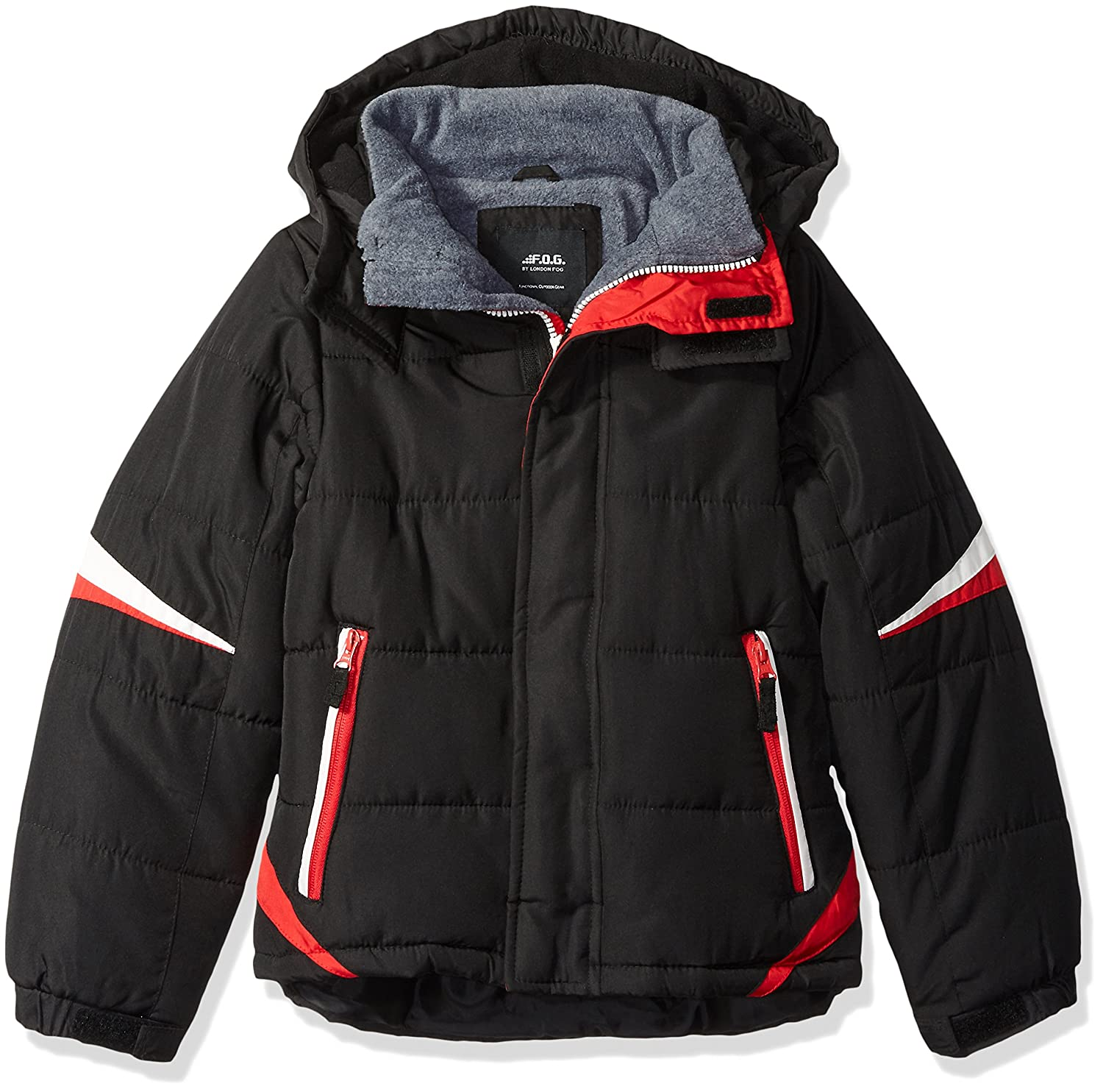 4ad0205f7 London Fog Boys' Active Puffer Jacket Winter Coat