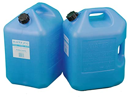 Amazon Blue 6 Gallon Water Jugs 2 Pack Everything Else