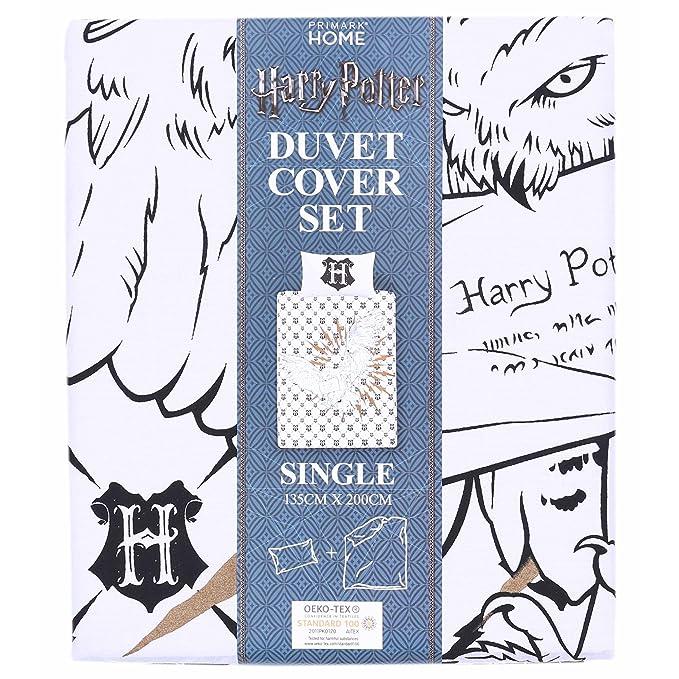 Harry Potter único Reversible edredón Cubre Acogedor edredón ...