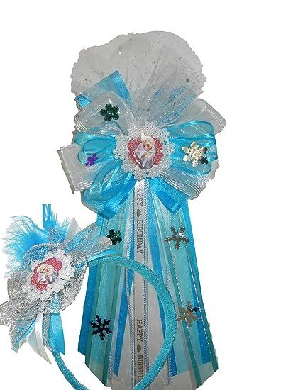 Amazon.com: Elsa de Frozen huésped de honor cinta de corsé ...