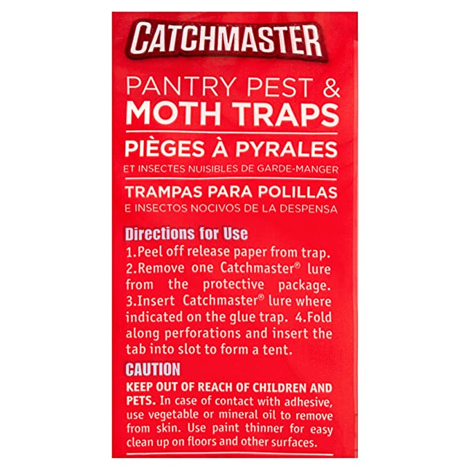 Amazon.com : Catchmaster Made in USA 100% Safe Home Pest Control Traps (Rat, Mouse & Snake Glue Traps, 2 Traps) : Garden & Outdoor