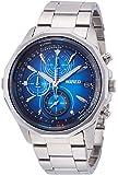 [ワイアード]WIRED 腕時計 「ザ ブルー」 クロノグラフ クオーツ ハードレックス 10気圧防水 AGAW439 メンズ