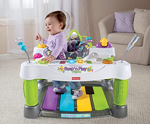 Fisher-Price Little Superstar Step N' Play Piano - My Mom's Best