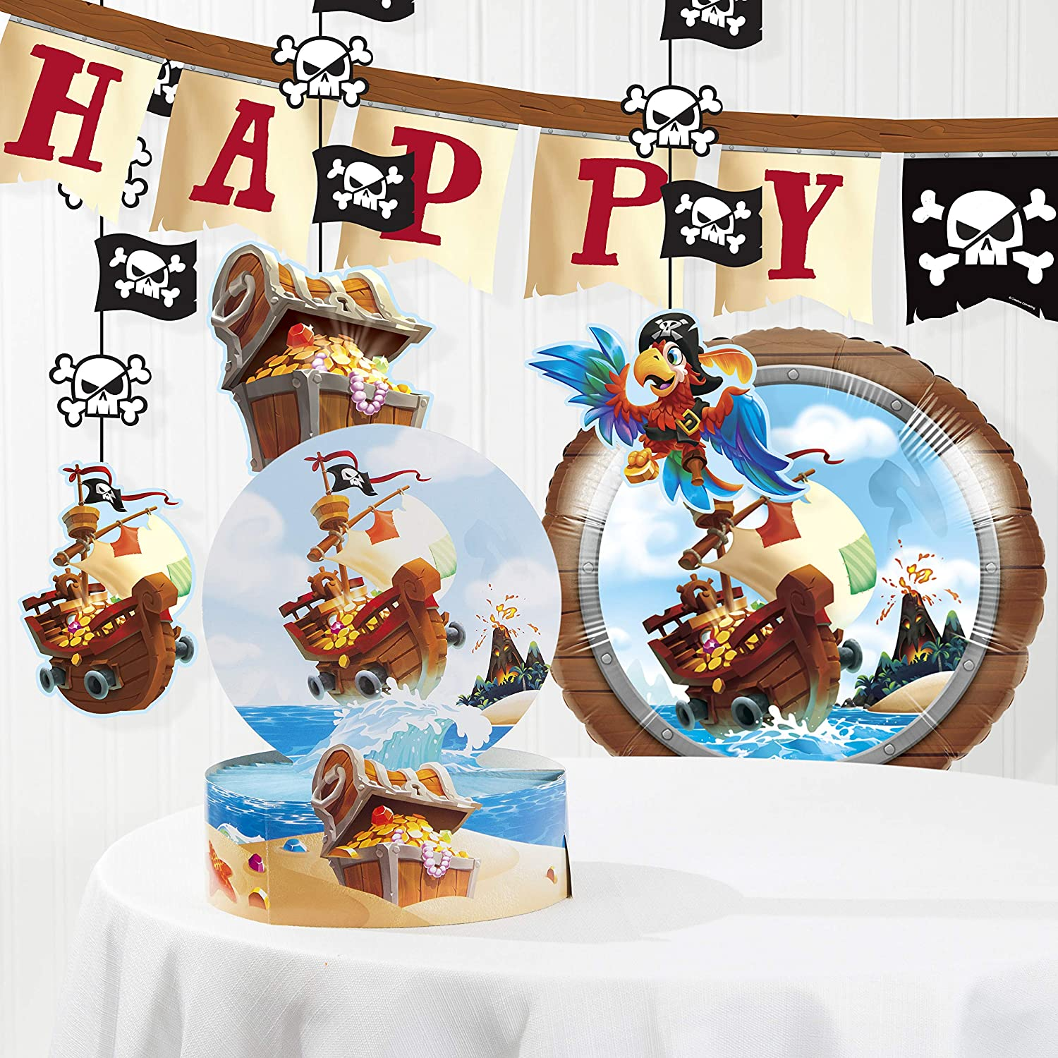 Amazon.com: Treasure Island - Kit de decoración de ...