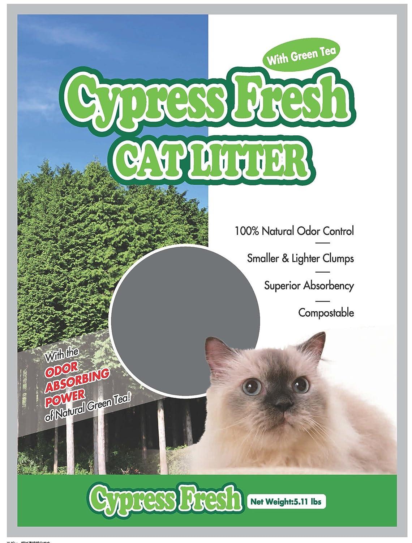 Cypress Fresh Cat Litter with Green Tea