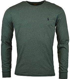 Ralph Lauren Round Neck Green Sweaters Mesh Men